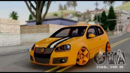 Volkswagen Golf V GTI para GTA San Andreas