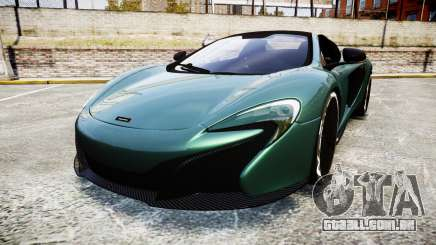McLaren 650S Spider 2014 [EPM] Yokohama ADVAN v1 para GTA 4