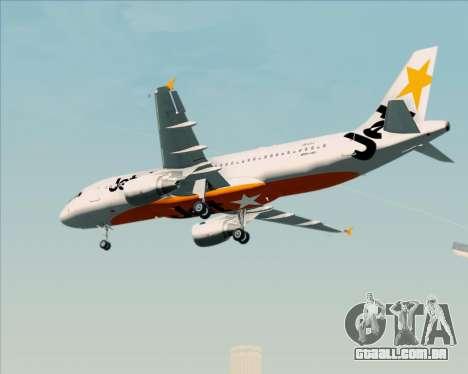 Airbus A320-200 Jetstar Airways para GTA San Andreas vista direita