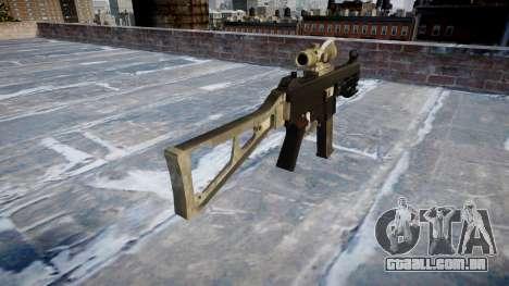 Arma UMP45 UM exército de fãs de couro AU para GTA 4 segundo screenshot