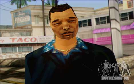 Yakuza from GTA Vice City Skin 2 para GTA San Andreas terceira tela