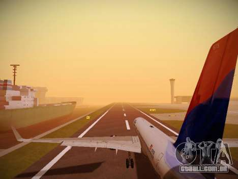 Boeing 757-232 Delta Airlines para GTA San Andreas