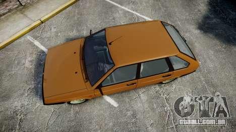 VAZ-2109 1500 eu para GTA 4 vista direita