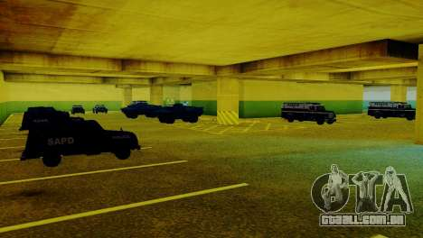 Veículos novos no LVPD para GTA San Andreas