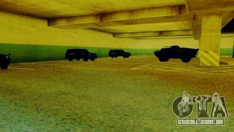 Veículos novos no LVPD para GTA San Andreas segunda tela