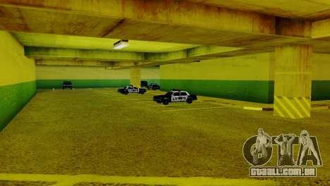 Veículos novos no LVPD para GTA San Andreas terceira tela