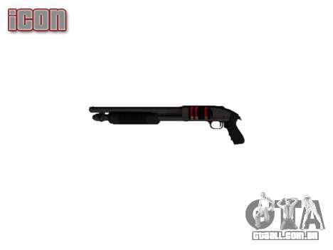 Riot espingarda Mossberg 500 icon2 para GTA 4 terceira tela