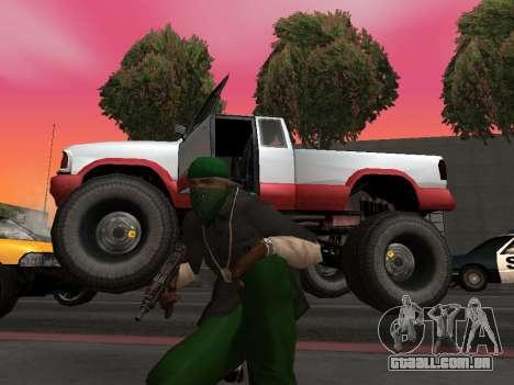 Novas texturas rodas Monstro para GTA San Andreas