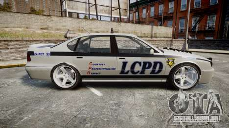 Declasse Merit Police Patrol Speed Enforcement para GTA 4 esquerda vista