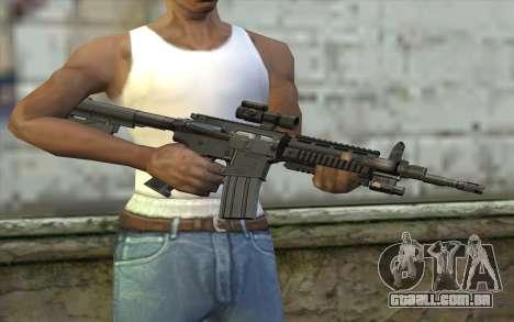 M4 Stuffed para GTA San Andreas terceira tela