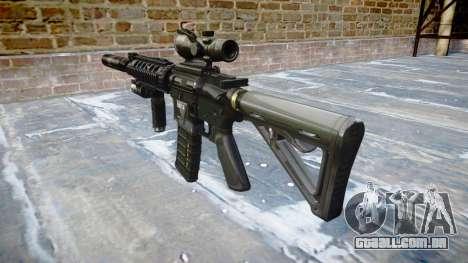 Máquina Tático M4A1 CQB alvo para GTA 4 segundo screenshot