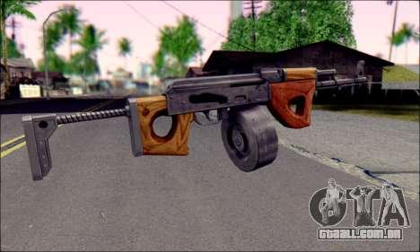 Importado AK para GTA San Andreas segunda tela