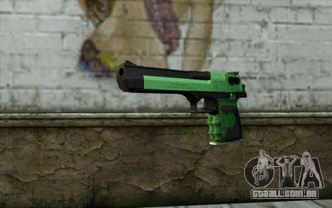Green Desert Eagle para GTA San Andreas