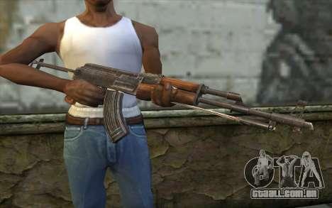 Тип 56-1 (АКМС) de Battlefield: Vietnam para GTA San Andreas terceira tela