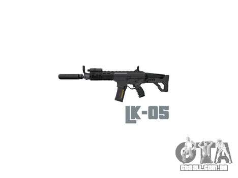 Máquina LC-05 Silenciador icon3 para GTA 4 terceira tela