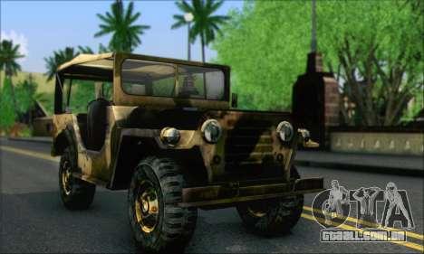 Iguana From Mercenaries 2 World in Flames para GTA San Andreas