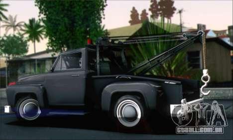 GTA 5 Towtruck para GTA San Andreas esquerda vista