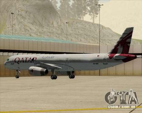 Airbus A321-200 Qatar Airways para GTA San Andreas