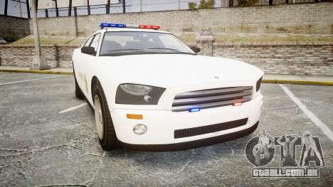 GTA V Bravado Police Buffalo [ELS] para GTA 4