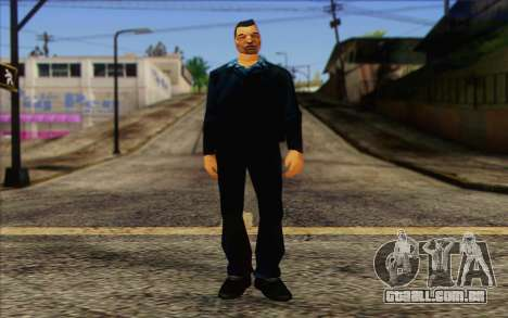 Yakuza from GTA Vice City Skin 2 para GTA San Andreas