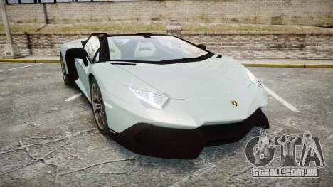 Lamborghini Aventador 50th Anniversary Roadster para GTA 4