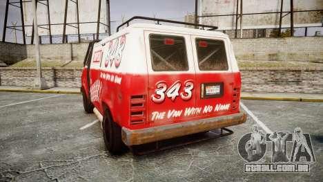 Kessler Stowaway Simpson para GTA 4 traseira esquerda vista