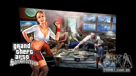 Os ecrãs de carregamento para GTA San Andreas terceira tela