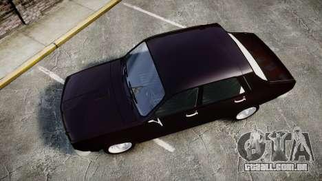 Dacia 1300 para GTA 4 vista direita