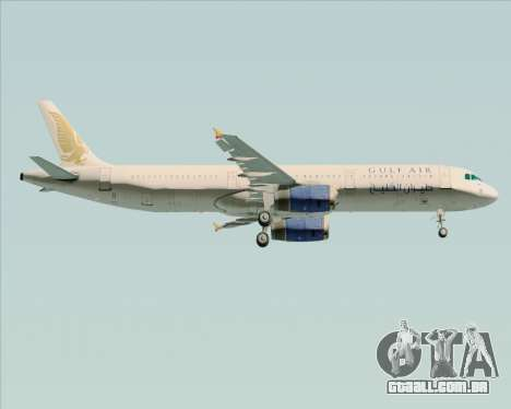 Airbus A321-200 Gulf Air para o motor de GTA San Andreas