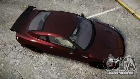 Nissan GT-R R35 Nismo para GTA 4 vista direita