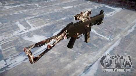 Arma UMP45 Zumbis para GTA 4 segundo screenshot