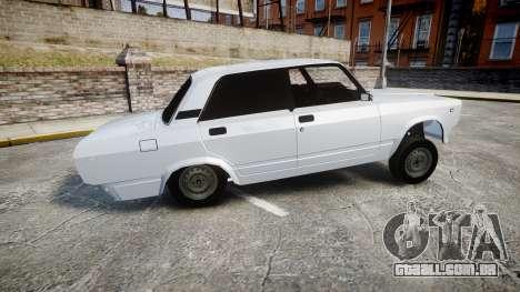 ВАЗ-2107 Avtosh Estilo para GTA 4 esquerda vista