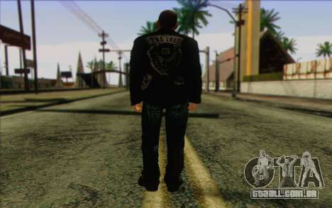 Johnny Klebitz From GTA 5 para GTA San Andreas segunda tela