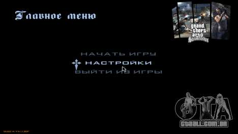 Os ecrãs de carregamento para GTA San Andreas oitavo tela