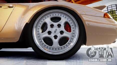Porsche 911 Carrera RS 993 1995 para GTA 4 vista de volta
