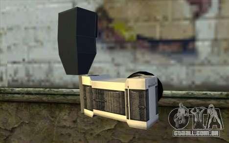 Camera from Beta Version para GTA San Andreas segunda tela