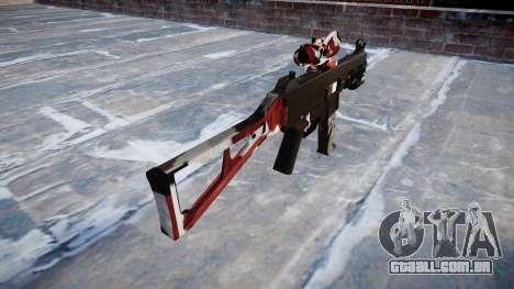 Arma UMP45 estão vermelhos para GTA 4 segundo screenshot