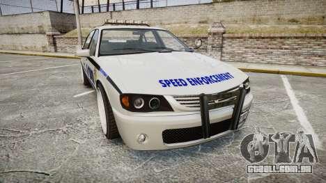 Declasse Merit Police Patrol Speed Enforcement para GTA 4