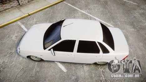 VAZ-Lada Priora 2170 para GTA 4 vista direita