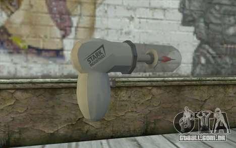 Stark Industries Nova Gun para GTA San Andreas segunda tela