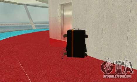 New parachute para GTA San Andreas segunda tela