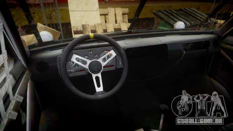 Kessler Stowaway Simpson para GTA 4 vista de volta