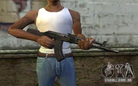 O AK-104 para GTA San Andreas terceira tela