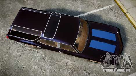 Oldsmobile Vista Cruiser 1972 Rims2 Tree2 para GTA 4 vista direita