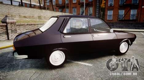 Dacia 1300 para GTA 4 esquerda vista