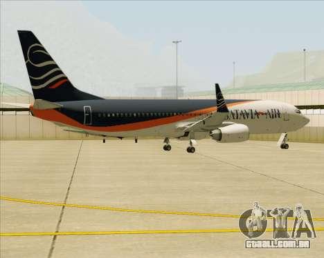 Boeing 737-800 Batavia Air (New Livery) para o motor de GTA San Andreas