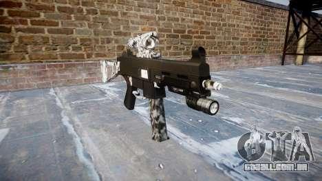 Arma UMP45 Diamante para GTA 4