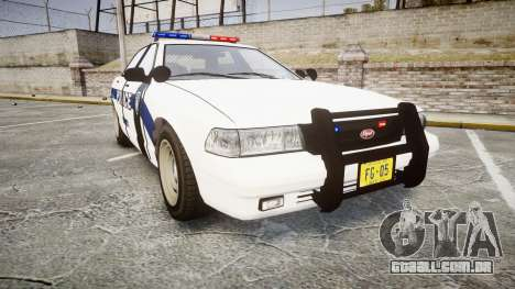 GTA V Vapid Cruiser LP [ELS] para GTA 4
