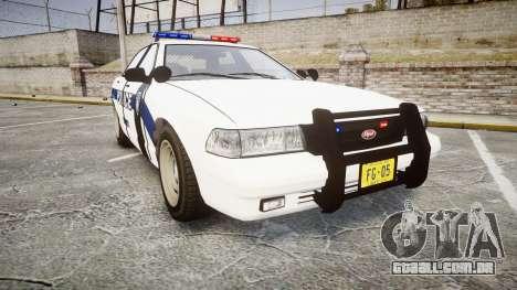 GTA V Vapid Cruiser LP [ELS] para GTA 4