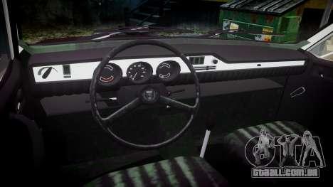 Dacia 1300 para GTA 4 vista de volta